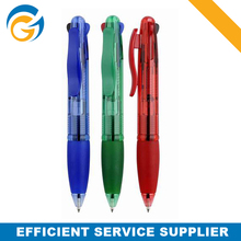 Red and Blue Magic Ink Multi Color Pen for Promotion