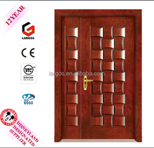 2015 HOT SALE entrance door, wooden door grill design,wooden doors design