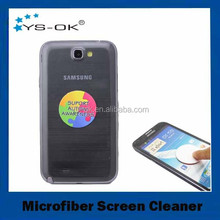2015 promotional customized microfiber adhesive screen cleaner