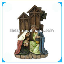 New polyresin nativity statue