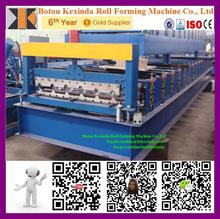 tôle manuel plieuse fabriqué en Chine bonne qualité toit tôle formant la vente chaude de machine 2014