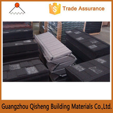 high quality luxury style sun stone coated metal roof tile, original roofing builidng manufacturer in china