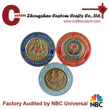 coin manufacturer promotion custom die casting singapore military coin