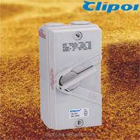 Three pole weatherproof isolator 20A SAA CE CB isolator