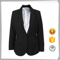 China suppliers Best selling Organic Business ladies jacket suits