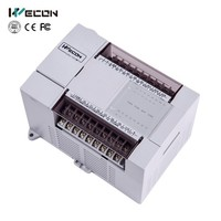 Wecon LX 24 I/O low cost industrial plc for chinese controller manufactury