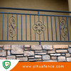 galvanized steel fence for commercial buildings