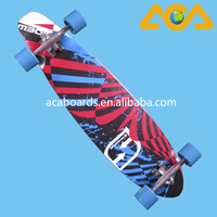 High Quality Canadian maple Complete Skateboards Longboard