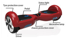 consumer electronic,two wheel smart balance buletooth electric scooter