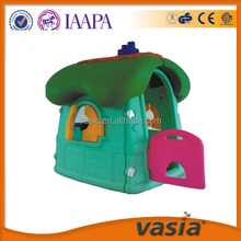 Mushroom plastic play house for children