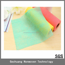 Good quality wiping cloth, non woven spunlace cleaning wiper, nonwoven perforated rolls