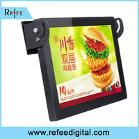 Refee WIFI advertising bus lcd advertising equipment