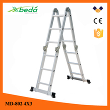special 2.4m high aluminum ladder folding construction ladder (MD-802 4x3)