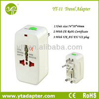 all in one universal travel plug adapter with eu uk au us plug travel accessory can use over 150 countries