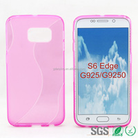 for samsung s6 edge mobile phone case S style plastic mobile phone case