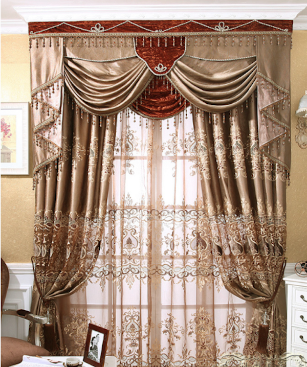 Church Curtains Decoration,The Curtain Accessories,,Luxury ...