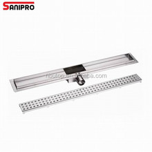 Tile insert style stainless steel drain strainers