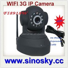 Leeman Group TCP/IP/WIFI CCTV camera 3G network home security alarm system with fire alarm SIGNS