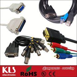 Good quality db9 to vga cable UL CE ROHS 140 KLS