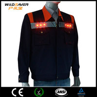 multi pockets led engineer uniform for electricians