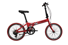 2016 China Factory 20 Alloy 7 Speed Folding Bike for Girls