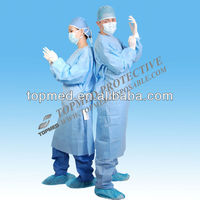 Disposable SMS STERILED standard or reinforced Surgical Gown