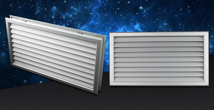 Decorative Aluminum Grille Cover Exhaust Air Vent Bathroom Door