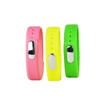 Advanced healthy smart band with color Red, Black, Green, Yellow, Blue