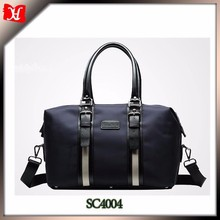 Oxford with leather trim discount luggage sets cheap price unisex travel bags