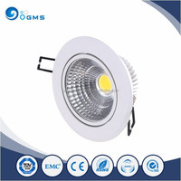 Made in China high lumen white lamp body COB led pop ceiling light 5w
