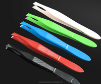 Percision Slant Tip Professional Eyebrows Expert Brow Shaping Tweezer eyelash extension tweezers