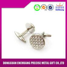 Super quality top sell pin dot enamel cufflinks