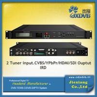 DVB-T Tuner HD IRD/ Demodulation + Descrambler +Re-mux Decoder