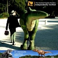 My-Dino life size walking with dinosaur costume