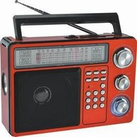 cheap fm portable radio WITH TORCH LIGHT