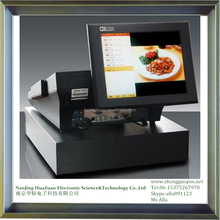 cheap touch cash register with scanner computer cash regsiter with