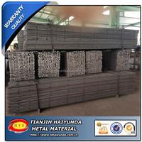 ASTM 1045 American Standard F Steel Profile/Concrete form side rail/End rail