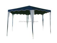 LG-HD4007 Yongkang LanGe metal and PE outdoor six corner canopy tent 2*2*2m folding gazebo