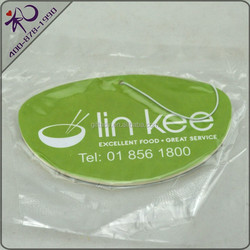 Cheap promotional gifts auto air freshner with custom design
