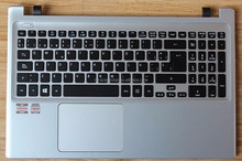 Silver layout For acer V5 571 551 531 LA SP keyboard with C cover