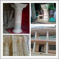New design professinal Decorative Plastic Roman Column Mold