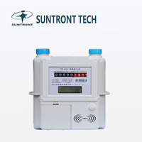 Suntront Steel Shell Electronic Gas Meter 1.6