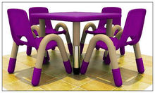 KIDS PLASTIC TABLE AND CHAIRS FURNITURE FOR NURSERY LT-2145E