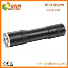 Hot Sell! High Power Aluminum rechargeable 18650 battery 2000mah Zoom led cree flashlight