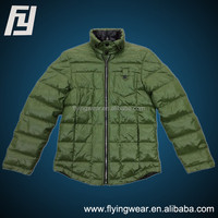 Winter Man Stylish Woven Padded Jacket Outwear