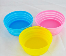 manufacturer made drop resistance silicone folding pet water bowl