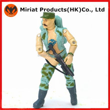 Custom made plastic toy soldiers action figure