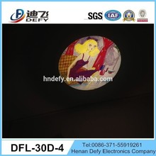 high quality multicolor led projector four gobos can replace manually