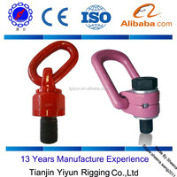 free samples swivel hoist rings hardware lifting eyes with zinc plating