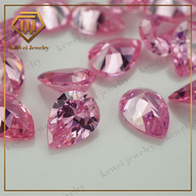 fancy pink color faceted cut rough loose gems for lady